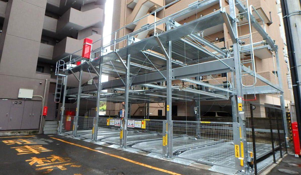 立体駐車場実績| ユキ産業は福岡を拠点に立体駐車場工事では九州トップ ...